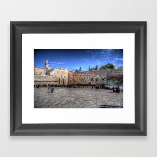 The Wailing Wall Series #1 Framed Art Print
