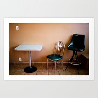 choose a seat Art Print