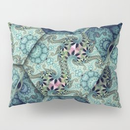 Amazing patterns in cubes and orbs Pillow Sham