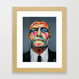 Collins by carographic Framed Art Print