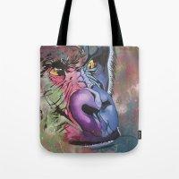ape Tote Bags featuring ape by HayleyStewart