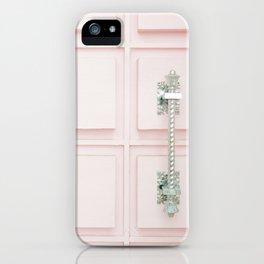 Palm Springs Pink Door iPhone Case