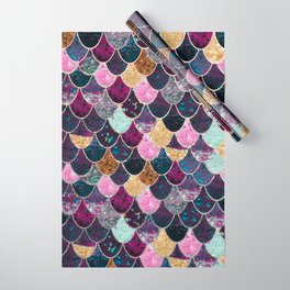 REALLY MERMAID - JEWEL SCALES Wrapping Paper