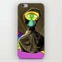 dancer iPhone & iPod Skins featuring Dancer by Joe Pansa