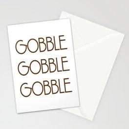 Gobble Gobble Gobble Stationery Cards