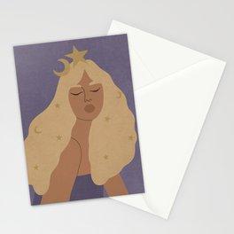 my mind, my body, my universe Stationery Cards