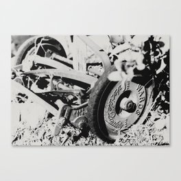 Mower Canvas Print
