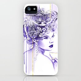 Miss Saint Petersburg iPhone Case