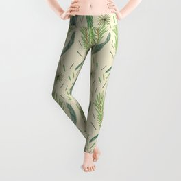Pine Bough Study Leggings