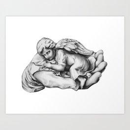 Guardian Angel Art Print