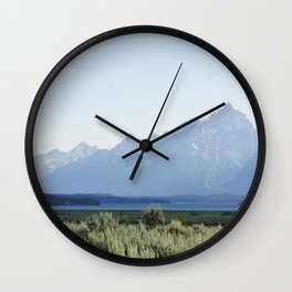 Grand Teton Dreams Wall Clock