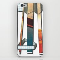 industrial iPhone & iPod Skins featuring Industrial by Shannon Rutherford