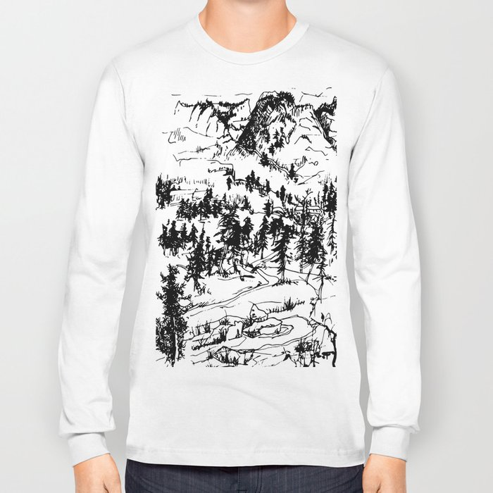 This is where it happened last autumn Long Sleeve T-shirt