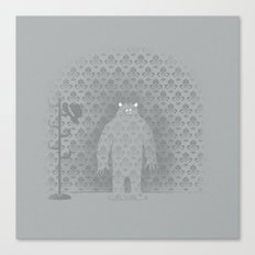 The Wall Monster Canvas Print