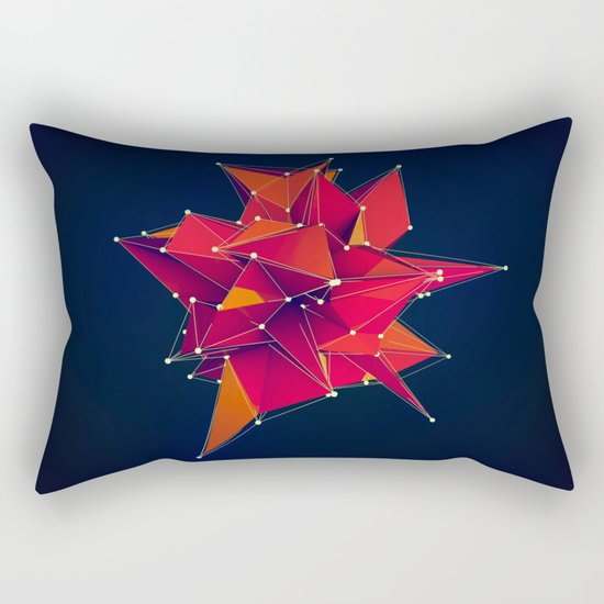 Architecture Polygons Rectangular Pillow