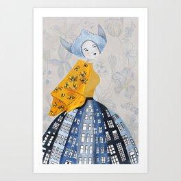 Dutch Girl Art Print