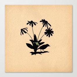 Maryland - State Papercut Print Canvas Print