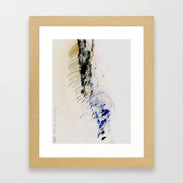 in ictu oculi Framed Art Print
