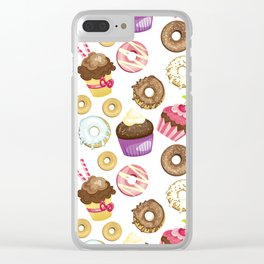 Decadent Delights Clear iPhone Case