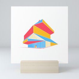 Rem Koolhaas - Seattle Central Library Mini Art Print