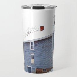 Country Barn Travel Mug
