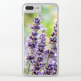 Lavender Flowers #1 #floral #art #society6 Clear iPhone Case