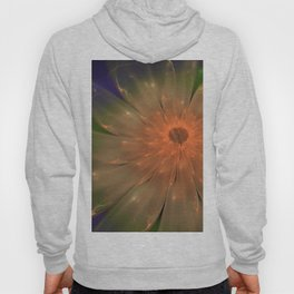 Abstract Flame Flower Hoody