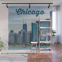 Chicago - The Windy City Wall Mural