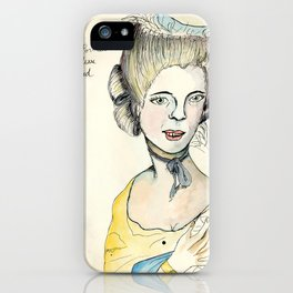 Portrait of the Duchess of Beauford iPhone Case