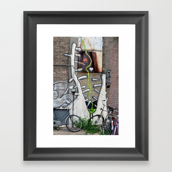 Hungry Framed Art Print