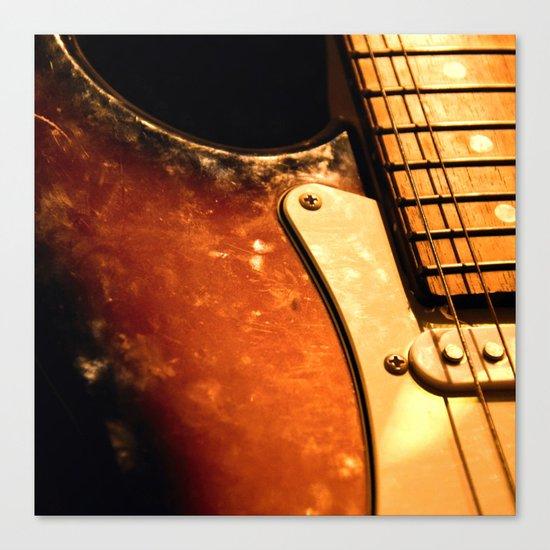 eletric guitar Canvas Print