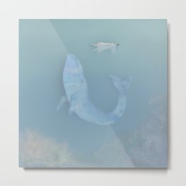 The Whale Metal Print