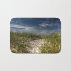 Light Tower and Dunes- Summer Beach Landscape #Society6 Bath Mat