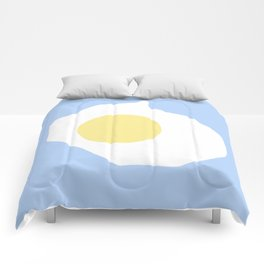 Fried Egg or 煎雞蛋 (Jiān jīdàn), 2014. Comforters