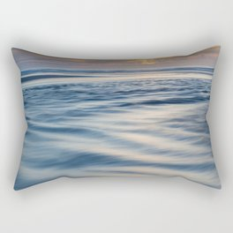 River Meets Sea Rectangular Pillow