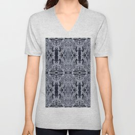 Icy branched Unisex V-Neck
