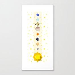 Solar System #society6 #decor #buyart #artprint Canvas Print