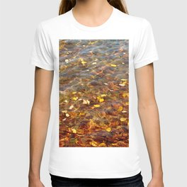 Fall in the Water 56 T-shirt