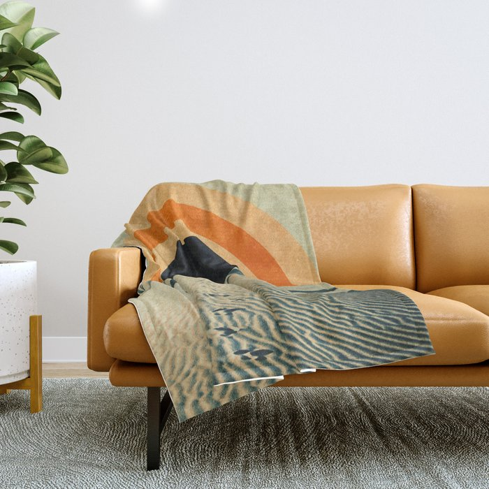 explore Throw Blanket
