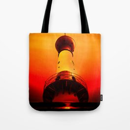 Lighthouse romance Tote Bag