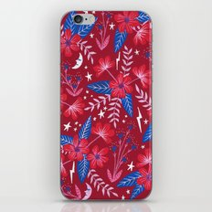 Red Moon Garden iPhone & iPod Skin