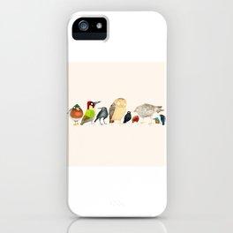 Woodland Bird Collection iPhone Case