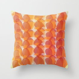 The Jelly Wave Collection Throw Pillow