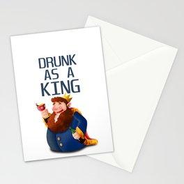 Rey de copas Stationery Cards