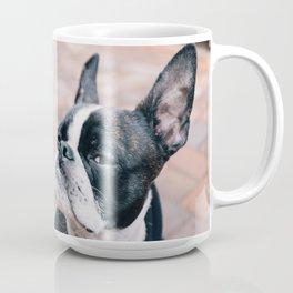 Bruce the Boston Terrier Pug Coffee Mug