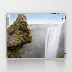 Skógafoss Waterfall Laptop & iPad Skin