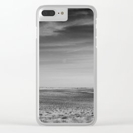 distance (about 5 miles) Clear iPhone Case
