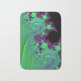 Euphoric Seahorse - Fractal Art Bath Mat
