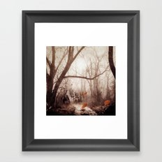 Secret place. Framed Art Print