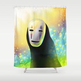 Faceless Shower Curtain